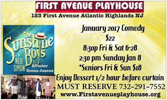 Atlantic Highlands, نيو جيرسي: January Comedy