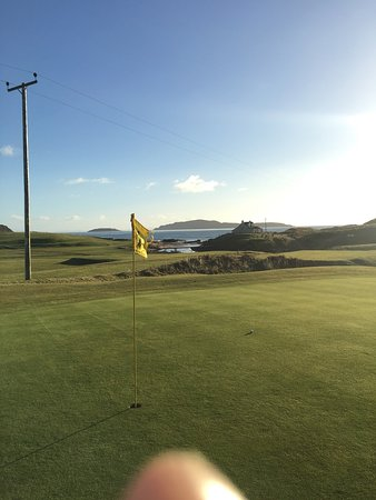 Campbeltown, UK: Dunaverty Golf Club