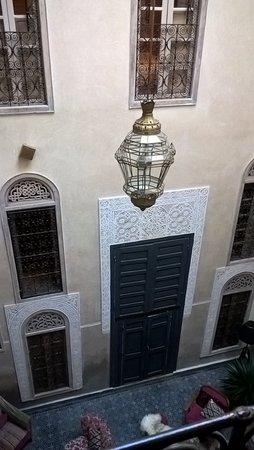Riad Anata: salon