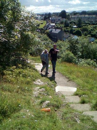 Dyserth, UK: weg nach oben