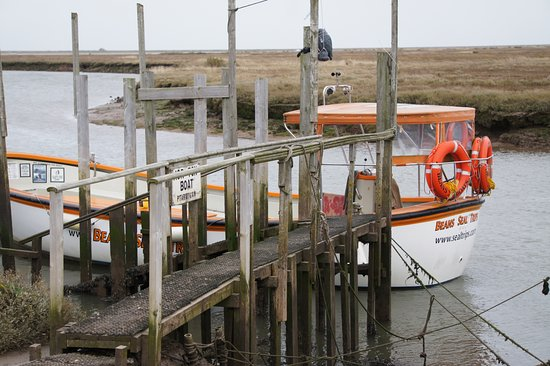 Blakeney, UK: Ready to board!