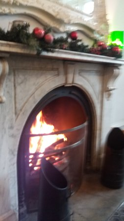 The Alverton: Cosy fire