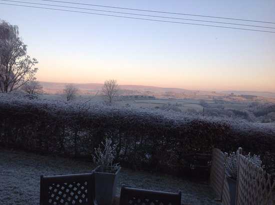 Builth Wells, UK: view from bedroom