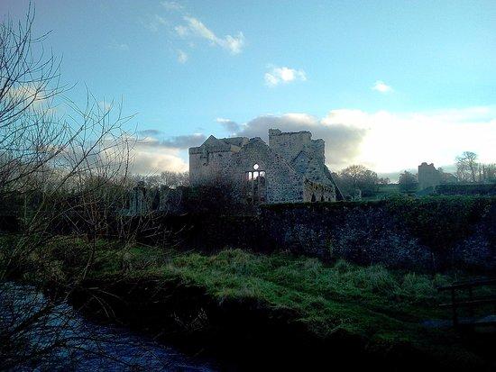 Kells Priory: As seen from the bridge
