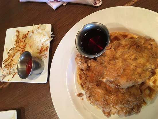 chicken and waffles picture of crave kitchen and bar el paso rh tripadvisor co nz crave kitchen and bar el paso tx Crave El Paso Menu