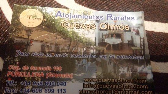 Purullena, España: La tarjeta del lugar