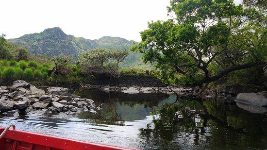 Gap of Dunloe: Mit dem Boot zurück..