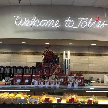 Hinckley, MN: Great selection of coffee and bakery items.