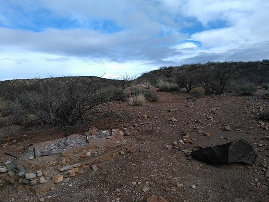 Hereford, AZ: ruins near Fairbank