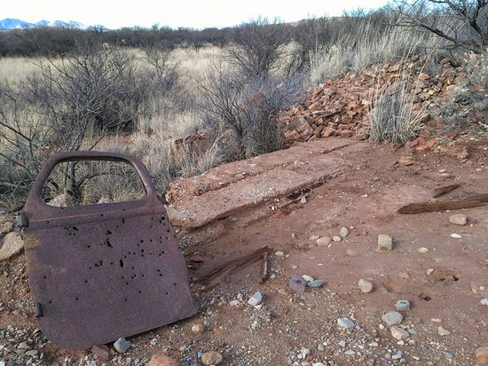 Hereford, AZ: relics near Fairbank