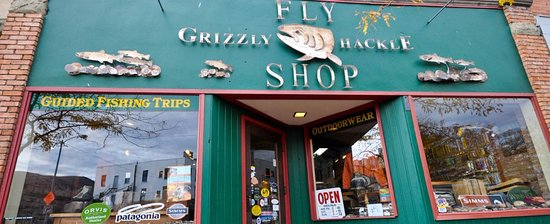 ‪Grizzly Hackle Fly Shop‬
