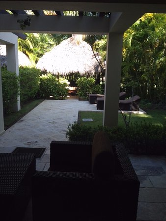 The Reserve at Paradisus Palma Real: Our personal Courtyard.