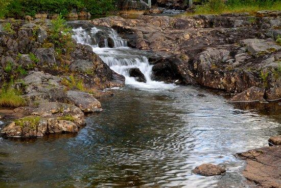 Norrbotten County, Sweden: cascatella