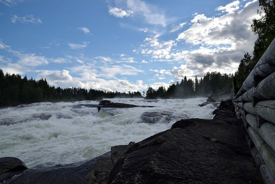 Norrbotten County, Sweden: rapide impetuose