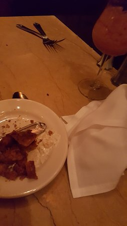 The Cheesecake Factory: Distance view of a cockroach