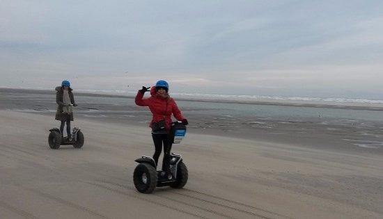 Mobilboard Le Touquet: Trop fun la balade sur la plage !!!