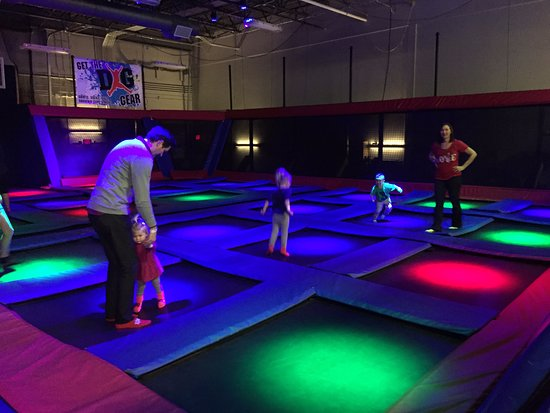 Defy Gravity Indoor Trampoline Park