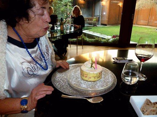 San Maurizio Canavese, Italia: La squisita torta di frutta