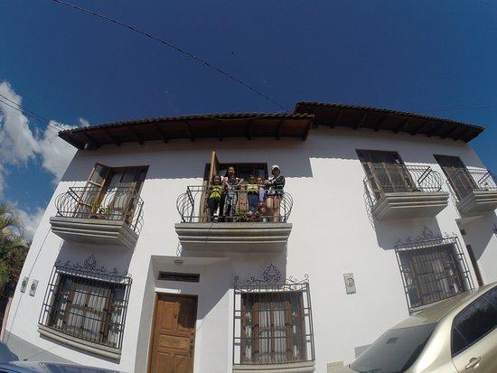 Casa Jaguar: Balcony