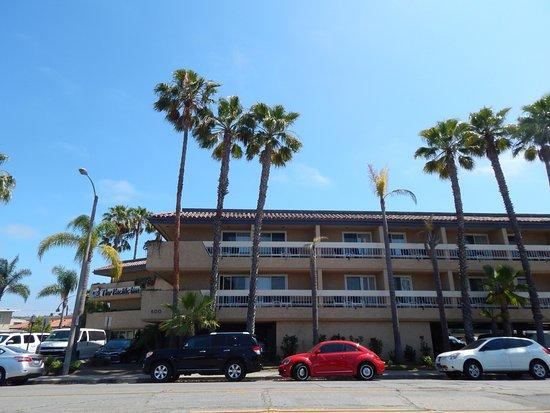 Seal Beach, CA: Newly remodeled balcony doors