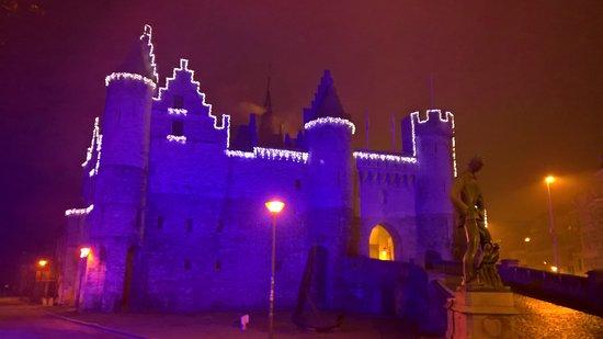 Steen Castle: Foto tijdens de kerstperiode