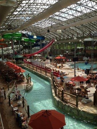 Jay Peak Resort: Water park lazy river