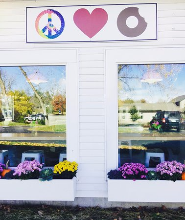 Hudson, Οχάιο: Exterior of shop