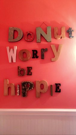 Hudson, OH: Donut Worry - Be Hippie