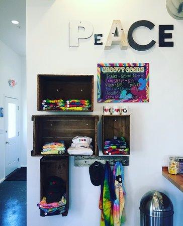 Hudson, OH: Merchandise Wall