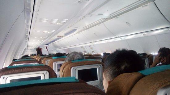 Kabin Pesawat Yang Bagus Picture Of Garuda Indonesia Tripadvisor