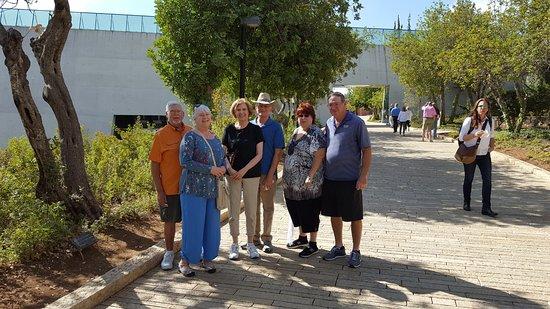 Rabbi Eitan Day Tours: Taken at Yad Vashem