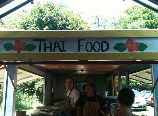 Brattleboro Farmers' Market : Like the sign says...