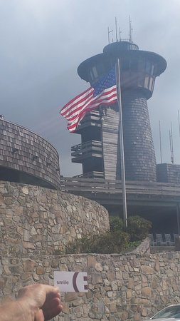 Franklin, NC: The lookout tower