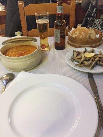 Ermezinde, Πορτογαλία: arroz tomate malandrinho com sardinhas