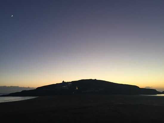 Sunset from Burgh Island