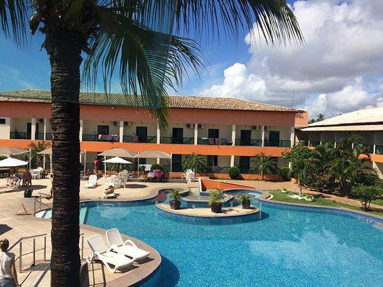 Hotel Beach Hills: Foto tirada no início da manhã