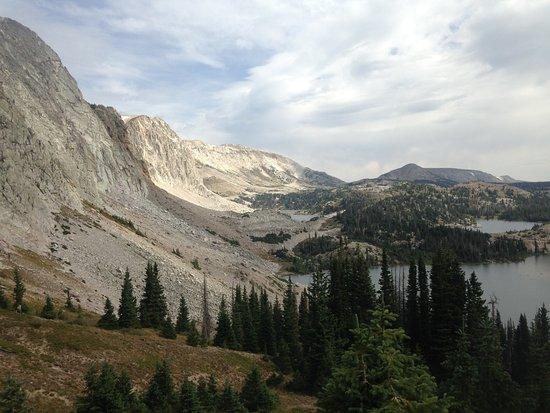 Centennial, Wyoming: snowy range hike