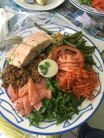 Karibea Squash Hotel: Petit déjeuner sous forme de buffet très varié. Repas servi en chambre.