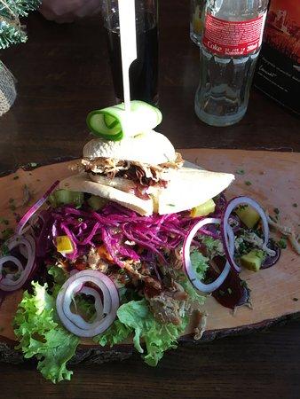 Veldhoven, Países Baixos: Pulled pork