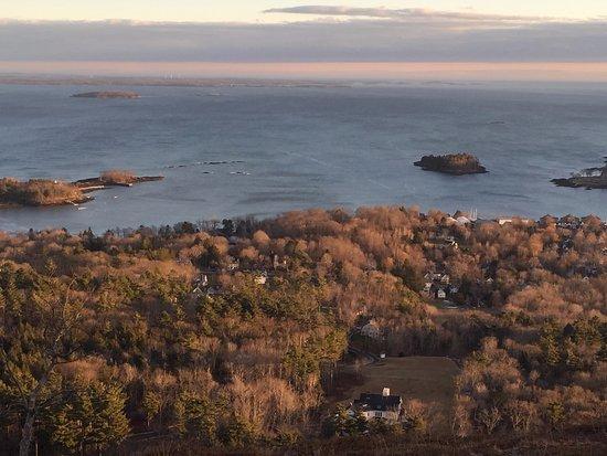 Mount Battie overlooking Camden, Maine