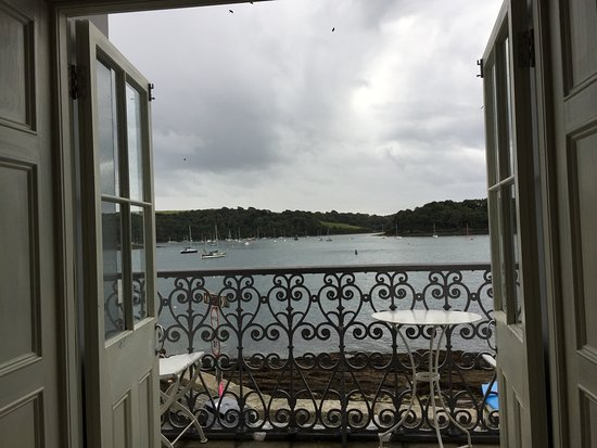 St Mawes, UK: View from breakfast
