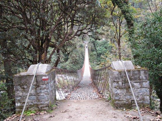 Snowy Horizon Treks & Expedition: One of the many spectacular suspension bridges
