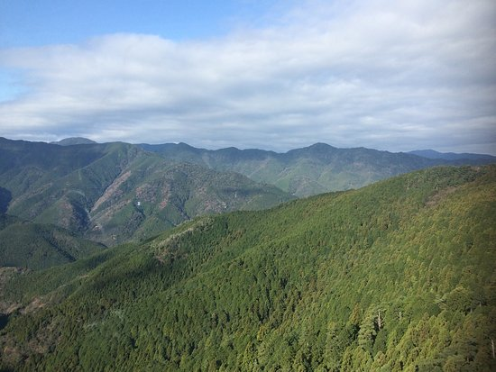 Naka-cho, Japan: 太龍寺ロープウェイ