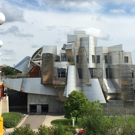 Gehry designed Walker Art Museum Picture of University of