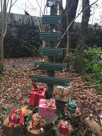 Cootehill, Ιρλανδία: Christmas at Erica's Fairy Forest