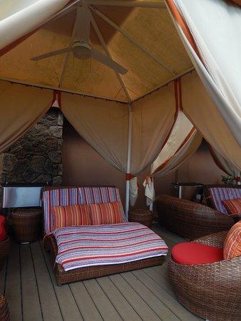 Sheraton Kauai Resort Large Cabana Available For Guests