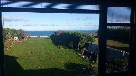 Sea Cliff Gardens Bed & Breakfast: view from Maria Theresa's Suite