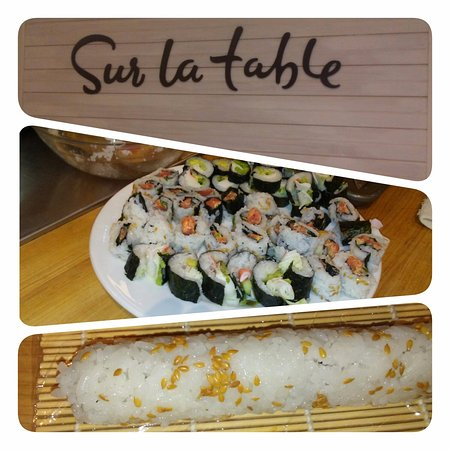 Novi, Μίσιγκαν: This what I did in the Sushi class