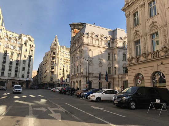Very Nice Streets You Must See Thing In Bucharest Foto Van