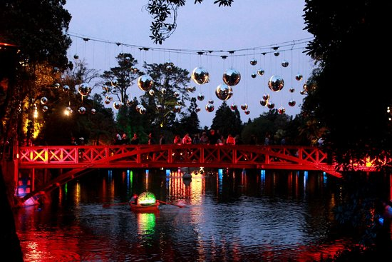 New Plymouth, نيوزيلندا: Festival of lights